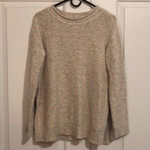 Lou & Grey Multi-Colored Speckled Sweater!